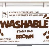 Center Enterprises Washable Stamp Pad, Variety of Colors (CE505)