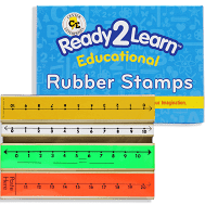 Center Enterprises Ready2Learn Educational Rubber Stamps (CE913)