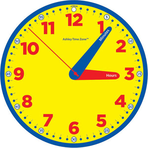 "Ashley Time Zone™ 12"" Instruction Teaching Clock (ASH50200)"