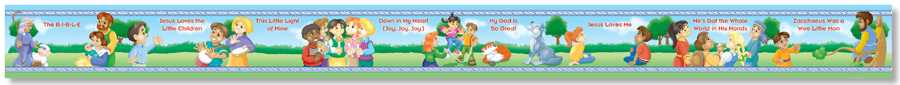 North Star Children Bible Songs Borders  NS4102