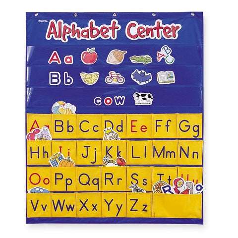 Learning Resources Alphabet Center Pocket Chart (LER2246)