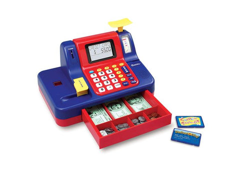 Learning Resources Pretend & Play Teaching Cash Register (LER2690)