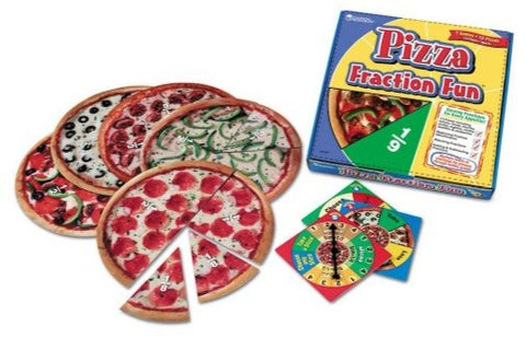 Learning Resources Pizza Fraction Fun Game (LER5060)
