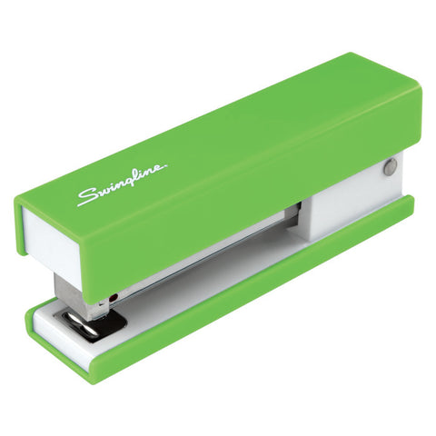 Swingline Half Strip Fashion Desktop Stapler, Pink or Green (87829)