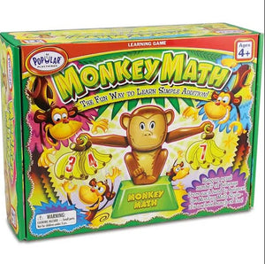 Popular Things MONKEY MATH Learn Simple Addition Ages 4+ (50101)