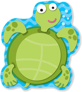 Carson Dellosa Sea Turtle Notepad, 50 Sheets(CD-151032)