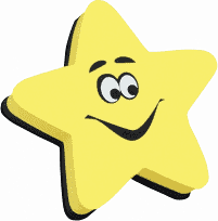 Ashley YELLOW STAR Magnetic Whiteboard Eraser (10016)
