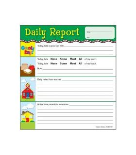 Carson Dellosa Daily Report Notepad, 50 sheets (KE-851001)