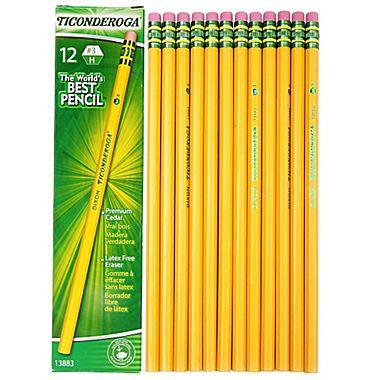 Ticonderoga® #2 Pencils (12 pack)