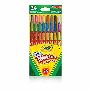 Crayola Mini Twistables Crayons (24 Count)