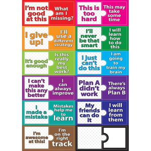 Ashley Growth Mindset Magnetic Mini Bulletin Board Set (ASH77010)