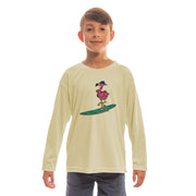 Flamingo Youth UPF 50+ UV/Sun Protection Long Sleeve T-Shirt