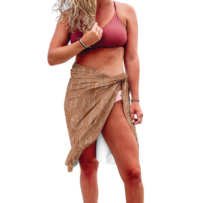 Sun Protection Sarong - Diamonds