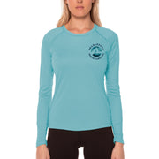 Fish Charts Charleston Women's UPF 50+ Long Sleeve T-Shirt