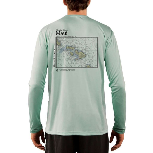 Coastal Classics Maui Mens Upf 5+ Uv/sun Protection Performance T-Shirt Seagrass / X-Small Shirt