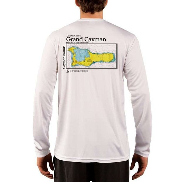 Coastal Classics Grand Cayman Mens Upf 5+ Uv/sun Protection Performance T-Shirt White / X-Small Shirt