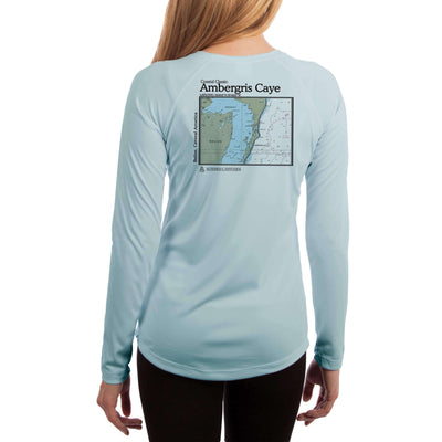 Coastal Classics Ambergris Caye Women's UPF 50+ Long Sleeve T-shirt - Altered Latitudes