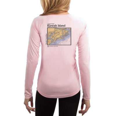 Coastal Classics Kiawah Island Women's UPF 50+ UV/Sun Protection Performance T-shirt - Altered Latitudes