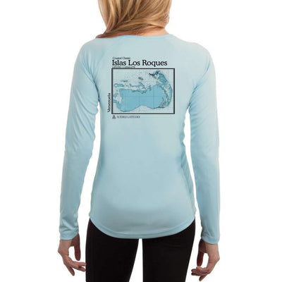 Coastal Classics Islas Los Roques Women's UPF 50+ UV/Sun Protection Performance T-shirt - Altered Latitudes