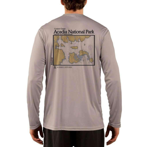 Coastal Classics Duck Island Men's UPF 50+ UV/Sun Protection Performance T-shirt
