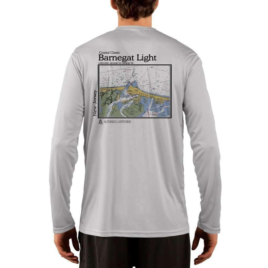 Coastal Classics Barnegat Light Men's UPF 50+ UV/Sun Protection Performance T-shirt