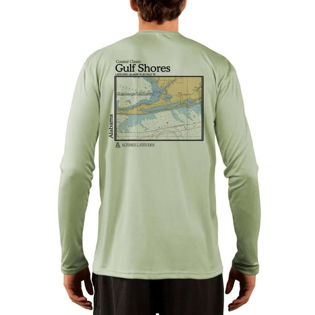 Coastal Classics Gulf Shores Men's UPF 50+ UV/Sun Protection Performance T-shirt