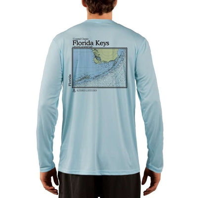 Coastal Classics Florida Keys Men's UPF 50+ UV/Sun Protection Performance T-shirt - Altered Latitudes