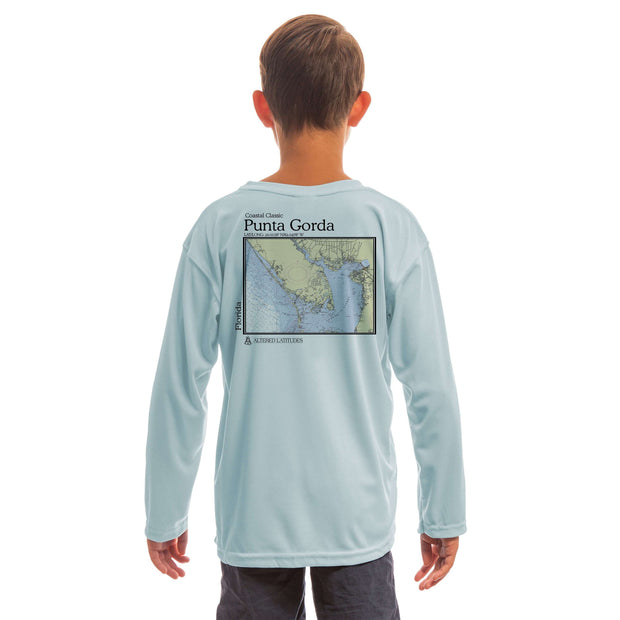 Coastal Classics Punta Gorda Youth UPF 50+ UV/Sun Protection Long Sleeve T-Shirt