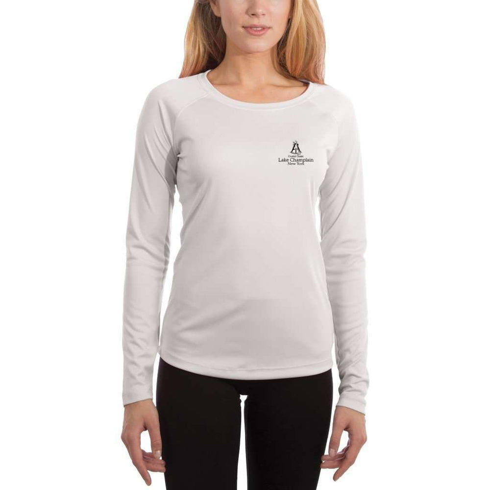 Coastal Classics Lake Champlain Womens Upf 5+ Uv/sun Protection Performance T-Shirt Shirt