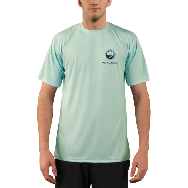 Compass Vintage Outer Banks Men's UPF 50+ Short Sleeve T-shirt