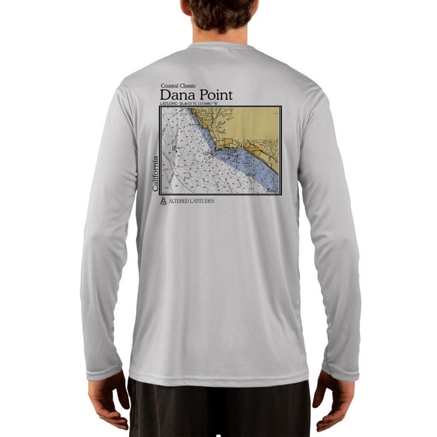 Coastal Classics Dana Point Men's UPF 50+ UV/Sun Protection Performance T-shirt