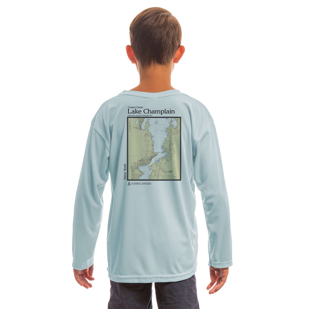Coastal Classics Lake Champlain Youth UPF 50+ UV/Sun Protection Long Sleeve T-Shirt