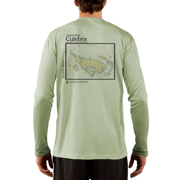 Coastal Classics Culebra Men's UPF 50+ UV/Sun Protection Performance T-shirt
