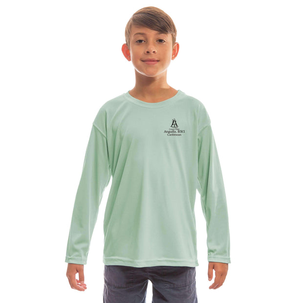 Coastal Classics Anguilla Youth UPF 50+ UV/Sun Protection Long Sleeve T-Shirt - Altered Latitudes