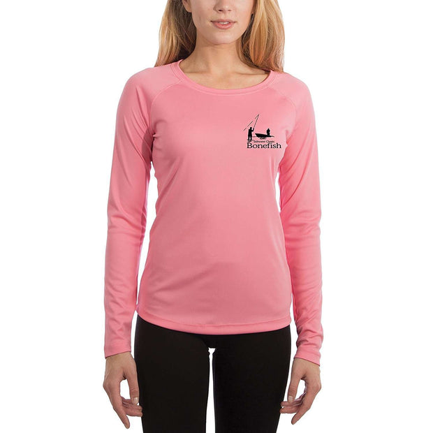 Saltwater Classic Bonefish Women's UPF 50+ Long Sleeve T-shirt