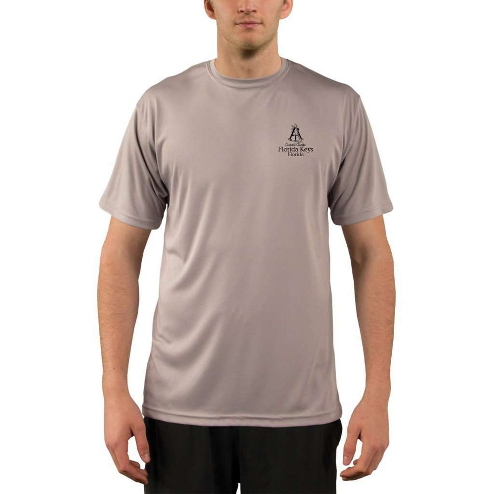 Coastal Classics Florida Keys Mens Upf 5+ Uv/sun Protection Performance T-Shirt Shirt