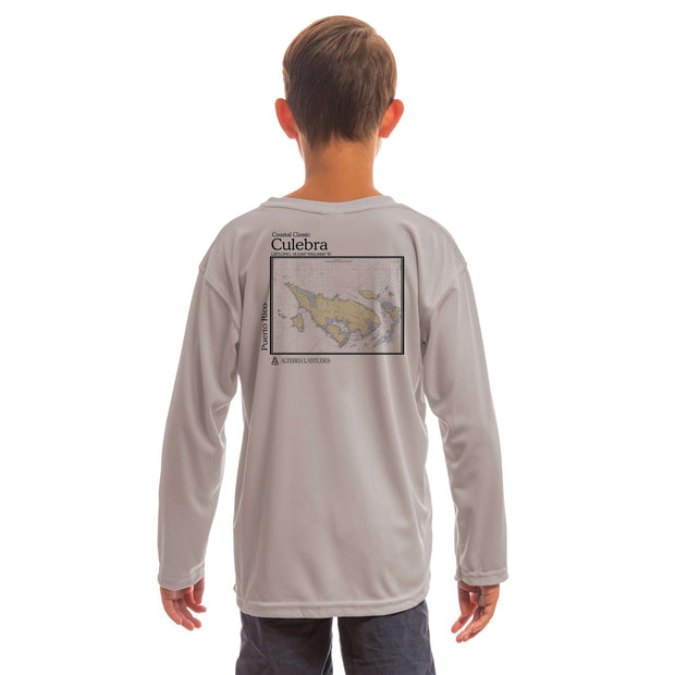 Coastal Classics Culebra Youth UPF 5+ UV/Sun Protection Long Sleeve T-Shirt - Altered Latitudes