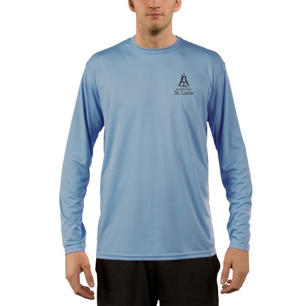 Coastal Classics St. Lucia Men's UPF 50+ UV/Sun Protection Performance T-shirt