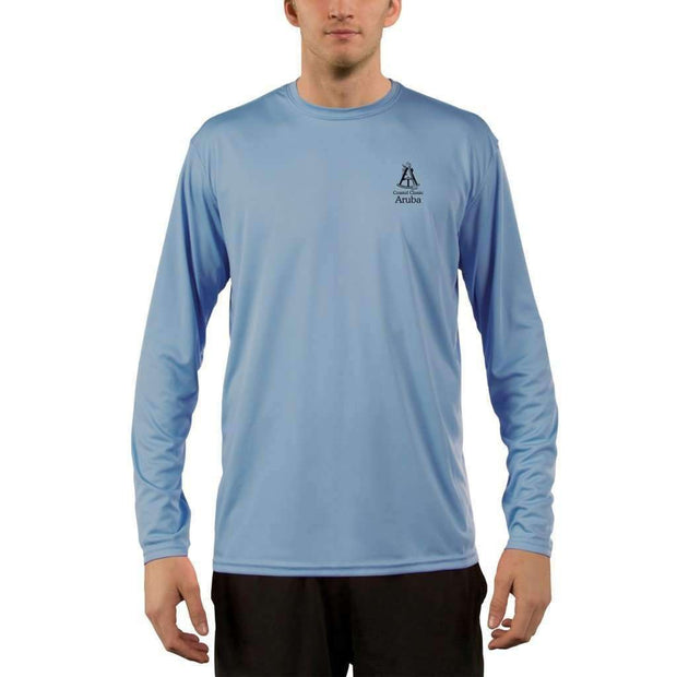 Coastal Classics Aruba Men's UPF 50+ UV/Sun Protection Performance T-shirt - Altered Latitudes