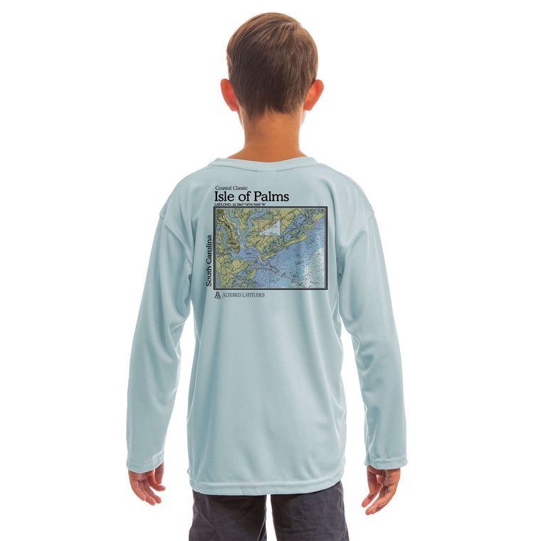 Coastal Classics Isle Of Palms Youth UPF 50+ UV/Sun Protection Long Sleeve T-Shirt