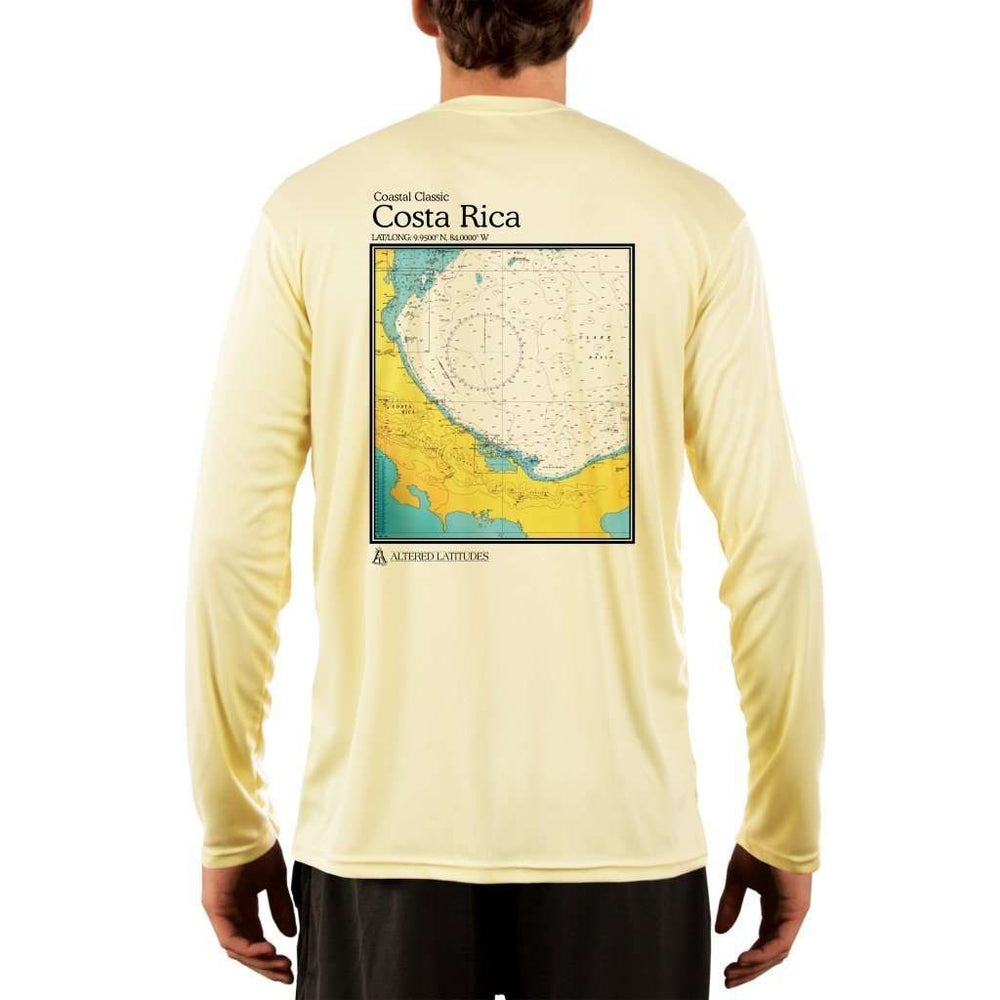 Coastal Classics Costa Rica Men's UPF 5+ UV/Sun Protection Performance T-shirt - Altered Latitudes