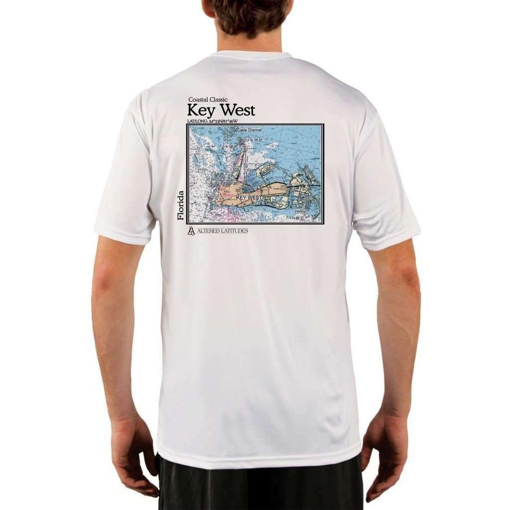 Coastal Classics Key West Mens Upf 5+ Uv/sun Protection Performance T-Shirt White / X-Small Shirt