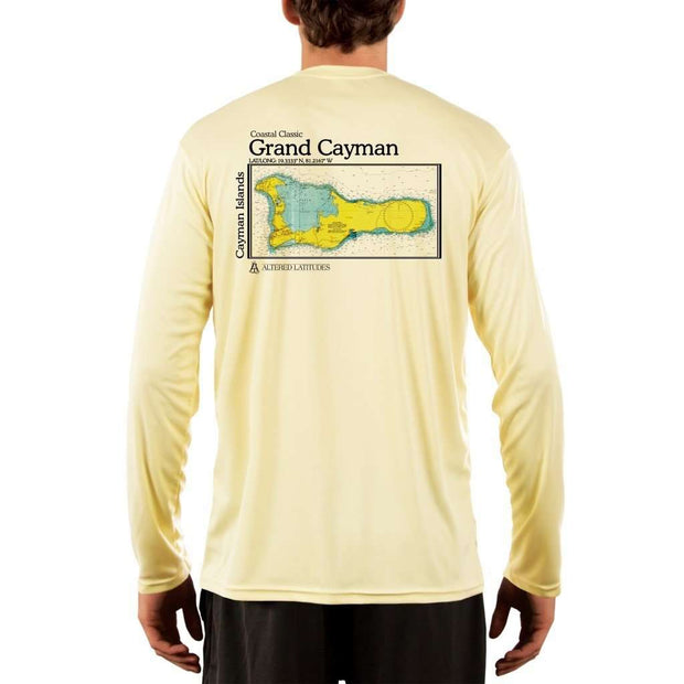 Coastal Classics Grand Cayman Mens Upf 5+ Uv/sun Protection Performance T-Shirt Pale Yellow / X-Small Shirt