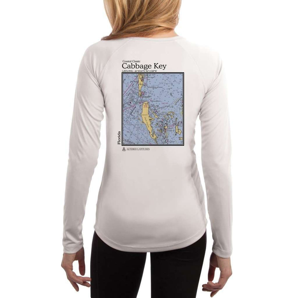Coastal Classics Cabbage Key Womens Upf 5+ Uv/sun Protection Performance T-Shirt White / X-Small Shirt