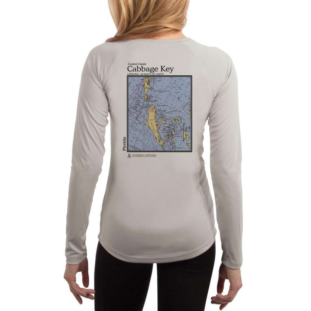 Coastal Classics Cabbage Key Womens Upf 5+ Uv/sun Protection Performance T-Shirt Pearl Grey / X-Small Shirt