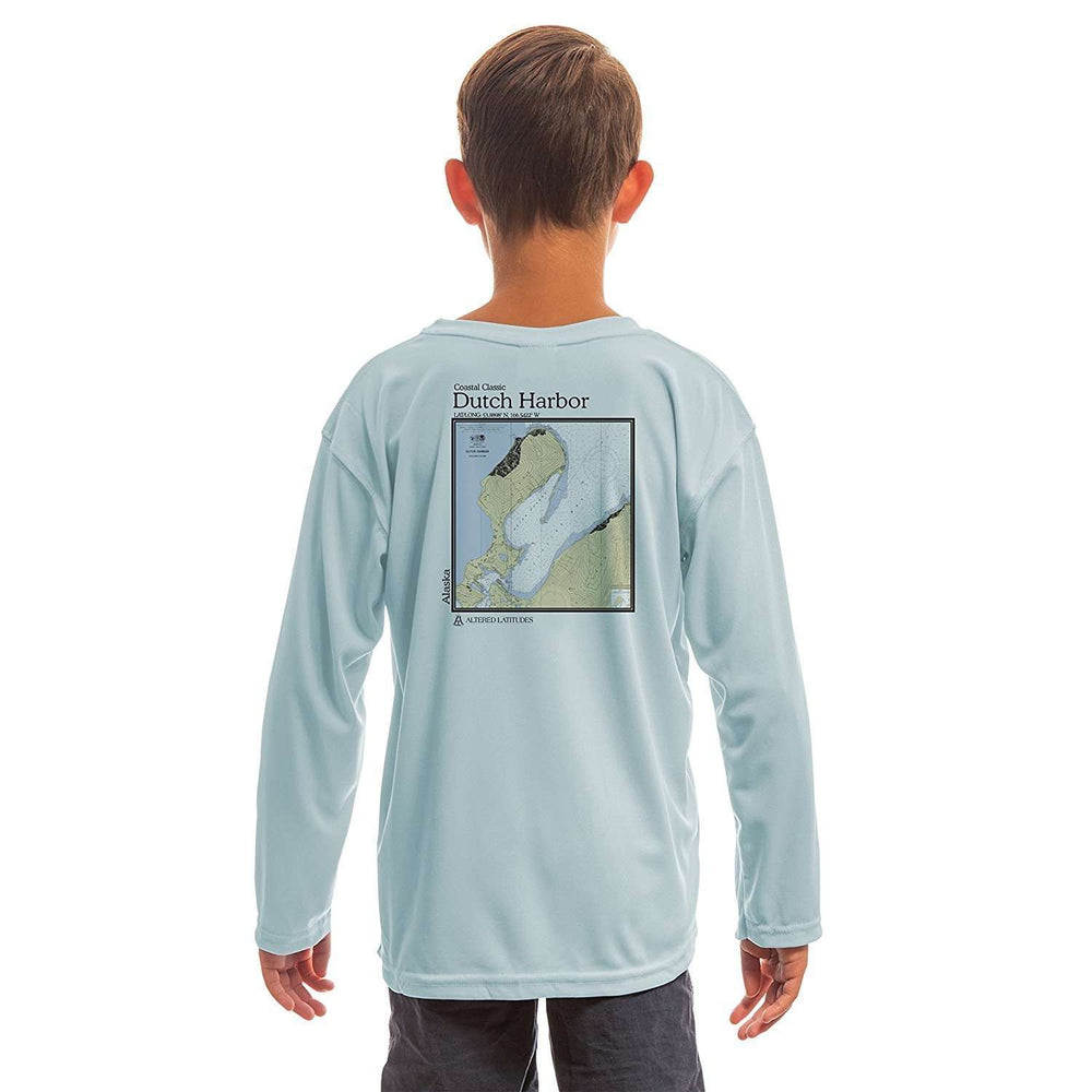 Coastal Classics Dutch Harbor Youth UPF 50+ UV/Sun Protection Long Sleeve T-Shirt