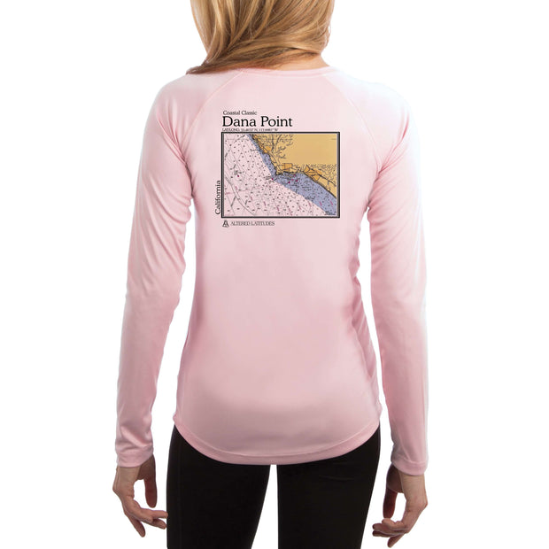 Coastal Classics Dana Point Women's UPF 50+ UV/Sun Protection Performance T-shirt - Altered Latitudes