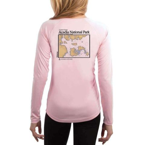 Coastal Classics Cape Canaveral Women's UPF 50+ UV/Sun Protection Performance T-shirt