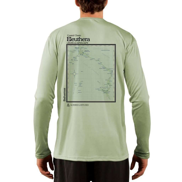 Coastal Classics Eleuthera Men's UPF 50+ UV/Sun Protection Performance T-shirt - Altered Latitudes