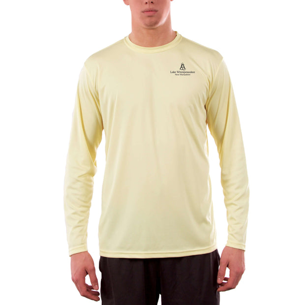 Coastal Classics Lake Winnipesaukee Men's UPF 50+ Long Sleeve T-Shirt